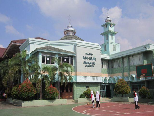 Masjid An-Nur SMAN 50 Jakarta